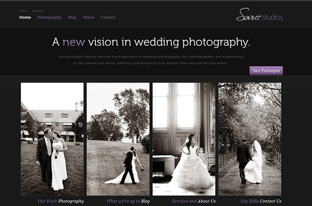 Well Designed Photography Websites 121clicks Com