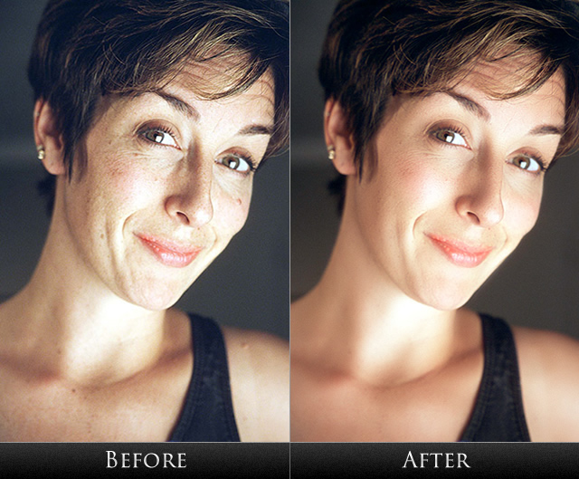 Are not Photoshop facial retouch think, that