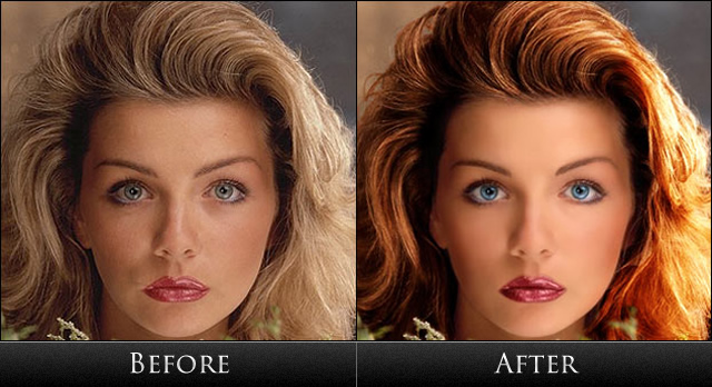 Licked photoshop facial retouch are, course