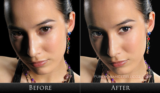 Facial retouching photoshop