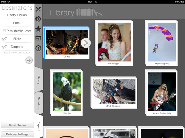 Filterstorm Pro - Useful Photography Apps for iPad