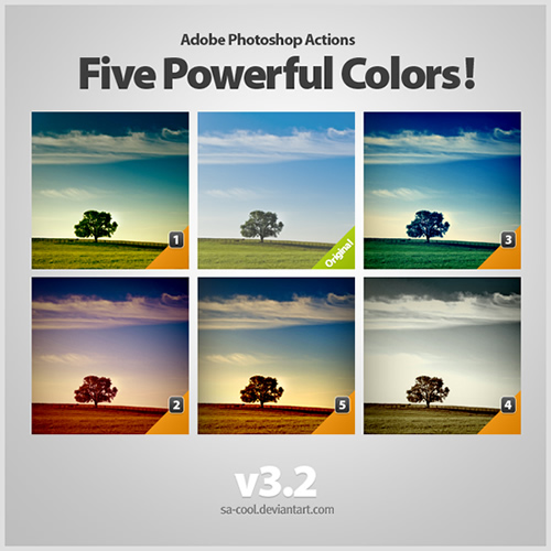 Five Powerful Colors