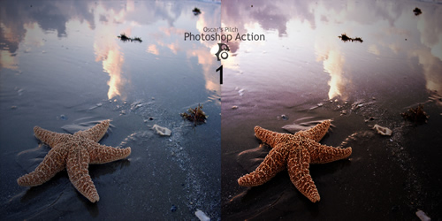Oscar Pilch Photoshop Action 1