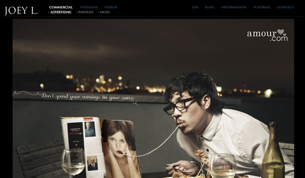 Joey L - The Best Photographer Portfolio Websites for Inspiration