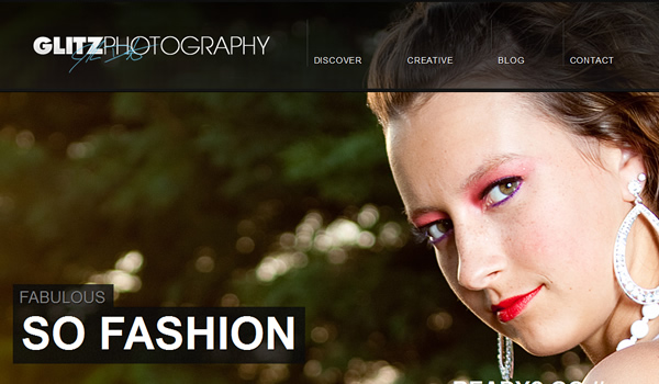 Glitz Photography - The Best Photographer Portfolio Websites for Inspiration