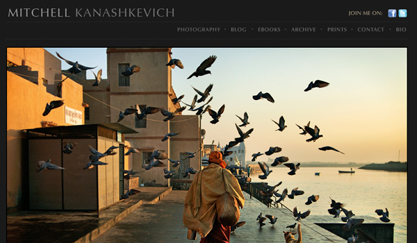 Mitchell Kanashkevich - The Best Photographer Portfolio Websites for Inspiration