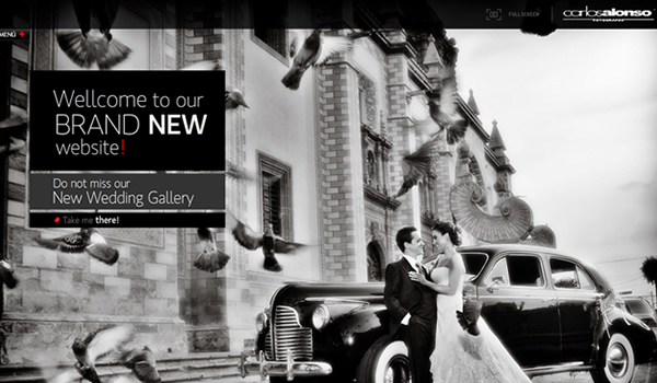 Carlos Alonso - The Best Photographer Portfolio Websites for Inspiration