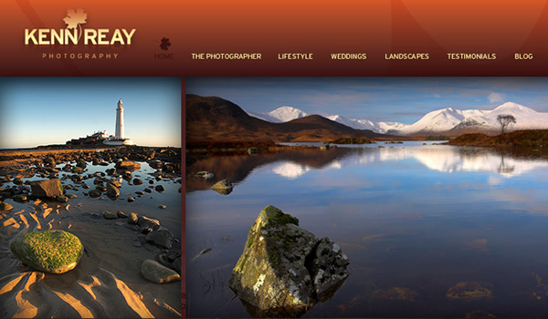 Kenn Reay - The Best Photographer Portfolio Websites for Inspiration