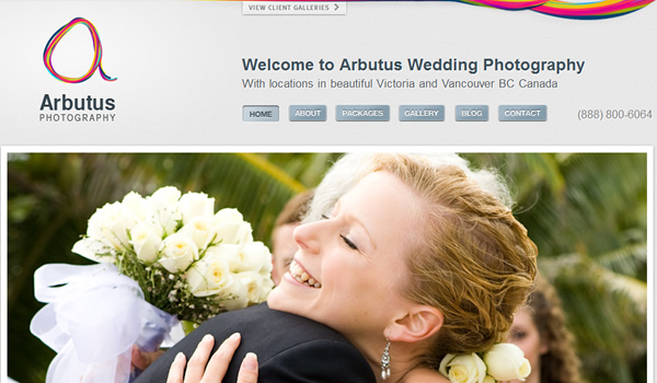 Arbutus Photography - The Best Photographer Portfolio Websites for Inspiration