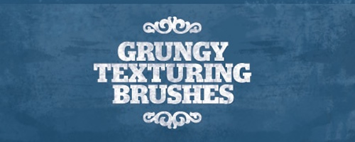 Grungy Texturing Brushes