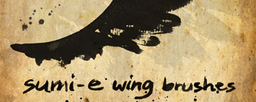 Wabis Wing High Resolution Brushes