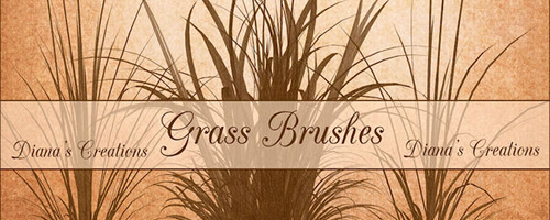 Photoshop High Resolution Grass Brushes