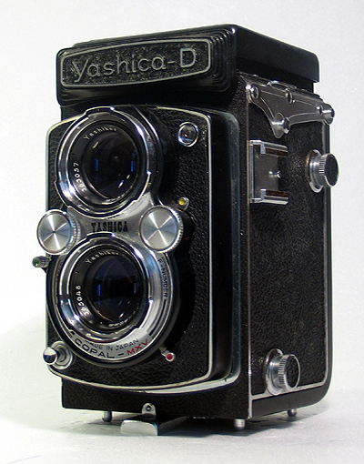 Yashica D-Twin - Vintage Cameras