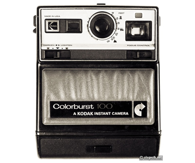 Kodak Colorburst Instant Camera - Vintage Cameras