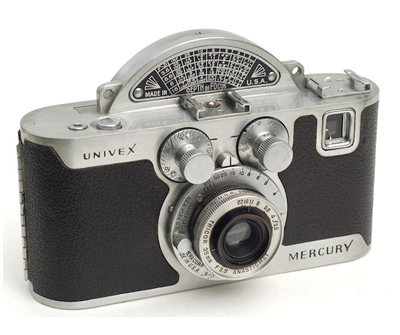 The Univex Mercury  - Vintage Cameras