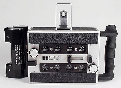 Graph-Check Sequence Camera - Vintage Cameras