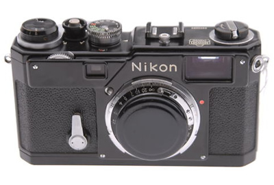 NIKON S3 BODY Black Original - Vintage Cameras