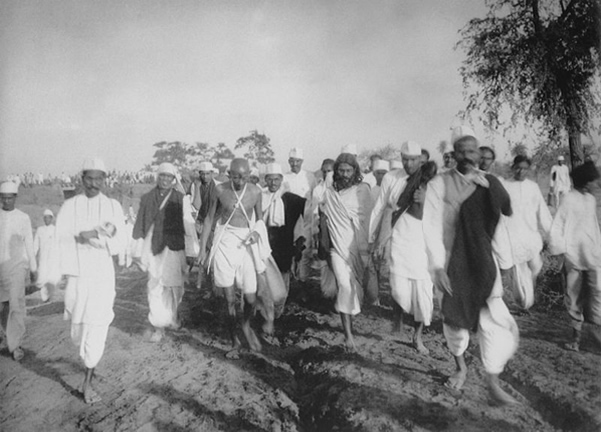 The Salt  March- Mahatma Gandhi