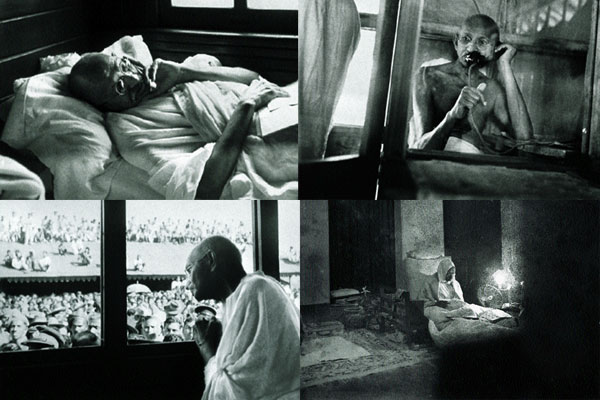 Rare Portraits of Gandhi