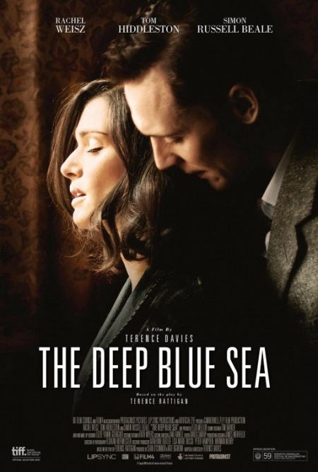 The Deep Blue Sea - Movie Posters with Romantic Photography