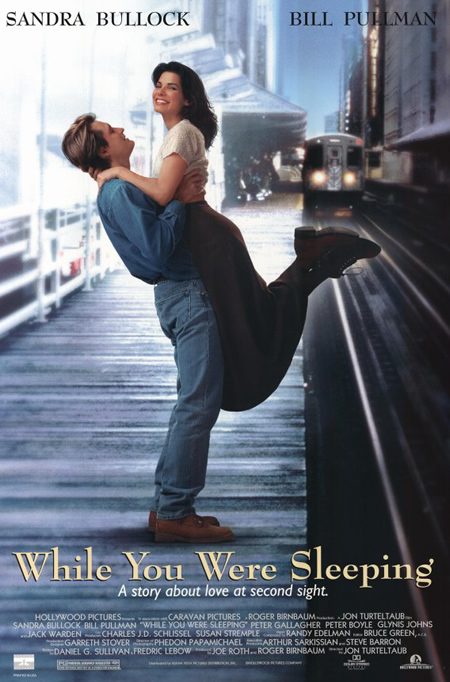 While your were Sleeping - Movie Posters with Romantic Photography