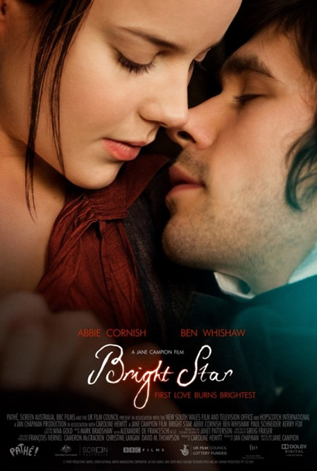 Bright Star - Movie Posters with Romantic Photography
