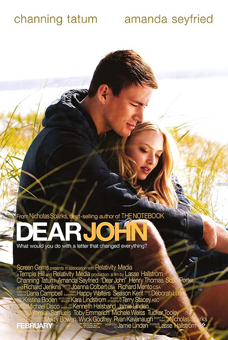 Dear John - Movie Posters with Romantic Photography