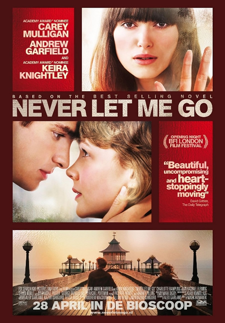 Never Let Me Go - Movie Posters with Romantic Photography