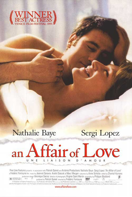 An Affair of Love - Movie Posters with Romantic Photography