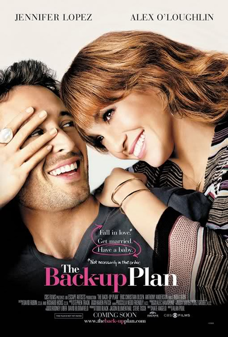 The Backup Plan - Movie Posters with Romantic Photography