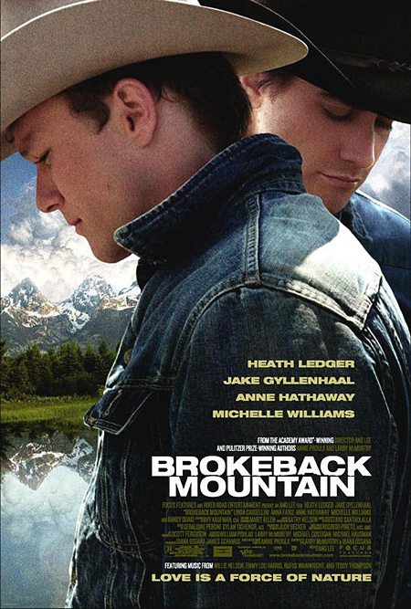 Brokeback Mountain - Movie Posters with Romantic Photography