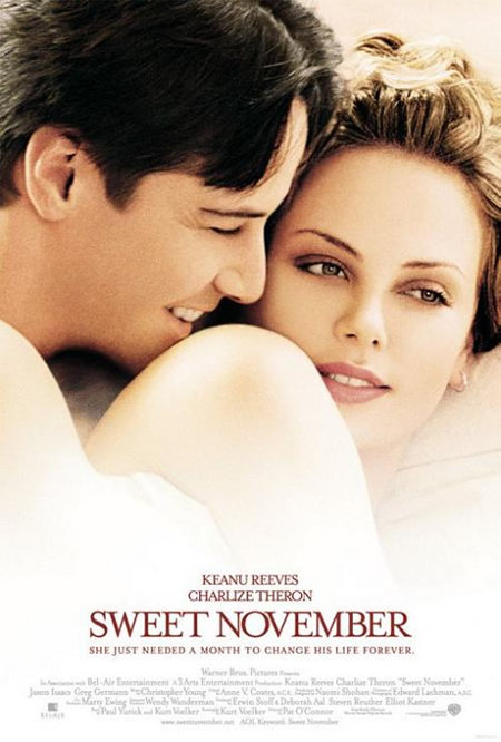 Sweet November - Movie Posters with Romantic Photography