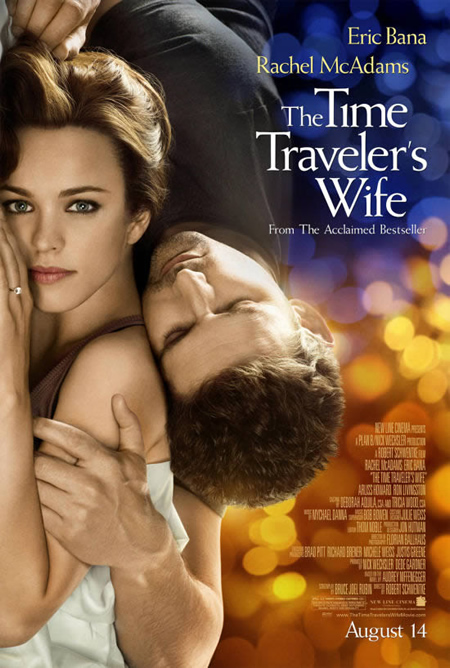 The Time Traveler's Wife - Movie Posters with Romantic Photography