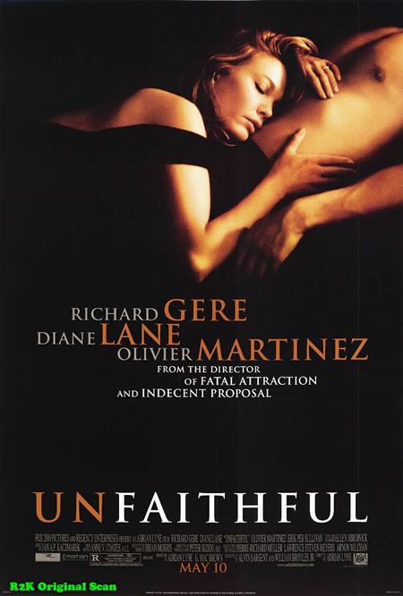 Unfaithful - Movie Posters with Romantic Photography