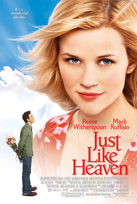 Just Like Heaven - Movie Posters with Romantic Photography