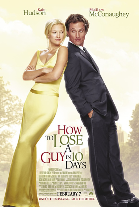 How to Lose a Guy in 10 Days - Movie Posters with Romantic Photography