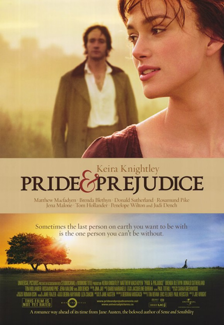 Pride and Prejudice - Movie Posters with Romantic Photography