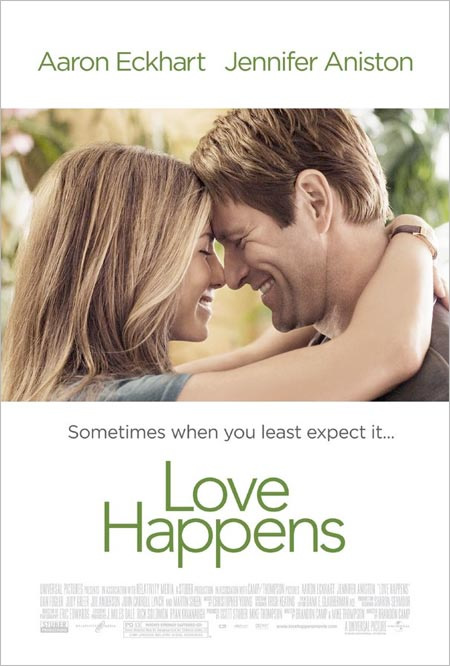 Love Happens - Movie Posters with Romantic Photography