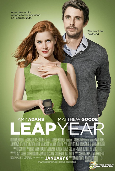 Leap Year - Movie Posters with Romantic Photography