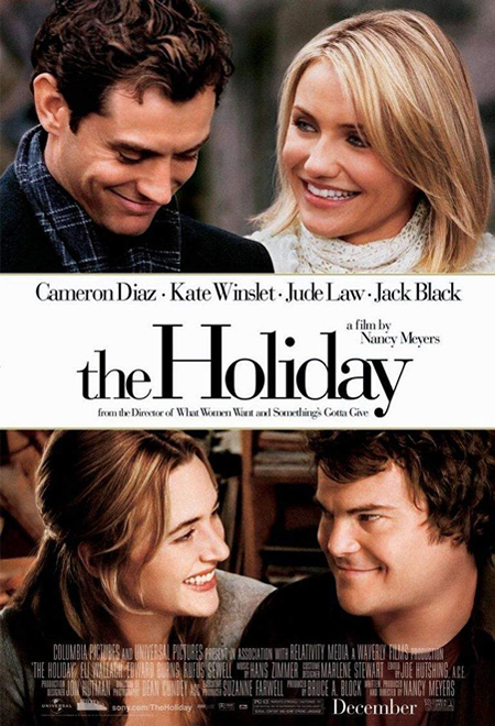 The Holiday - Movie Posters with Romantic Photography