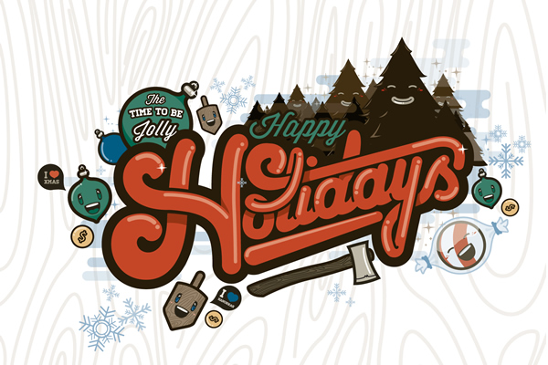 The Time to be Jolly - Happy Holidays