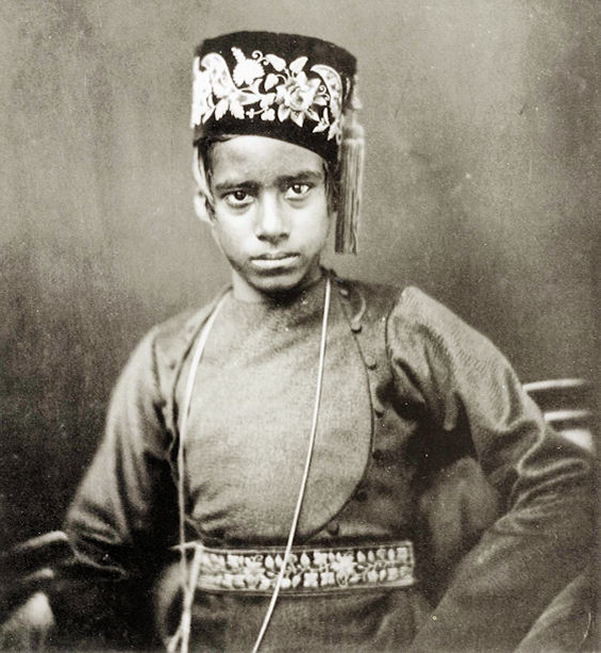 Boy from the caste of scribes - Bengal, c1856