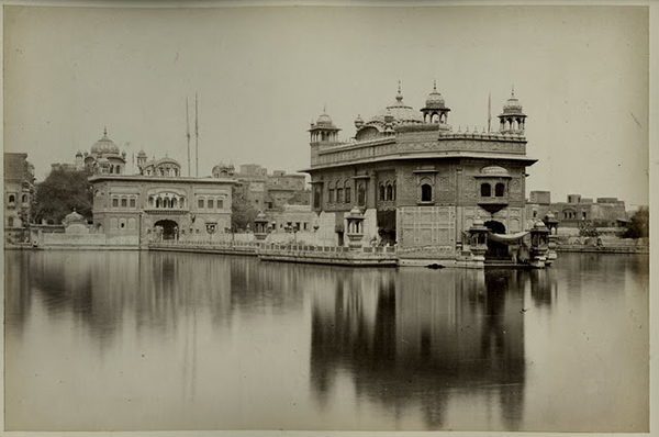 Golden Temple of Amritsar, Punjab - c1860's
