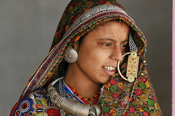 Kutch Lady - Gujarat, India