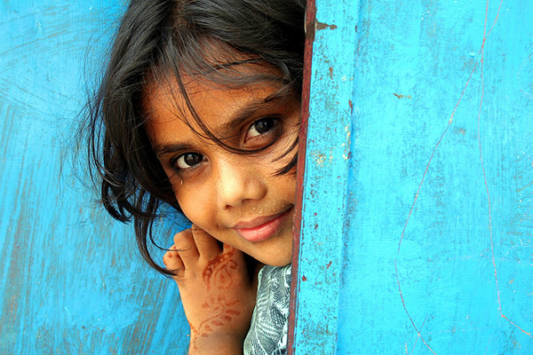 Little girl - Mattancherry, Kochi, India