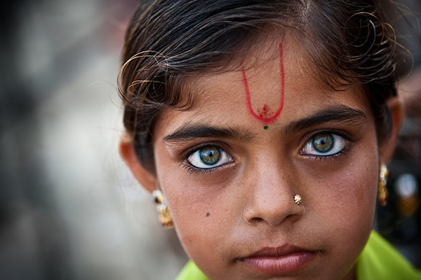 Eyes - Dwaraka, India