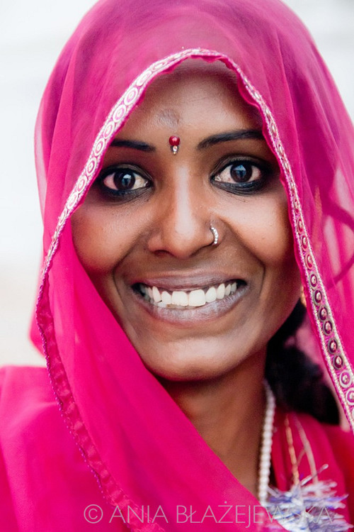 A portrait of a beautiful girl - Pushkar, India