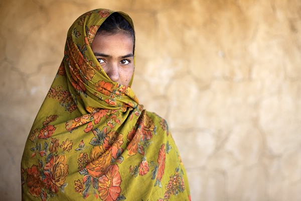 Woman in Rajasthan, India