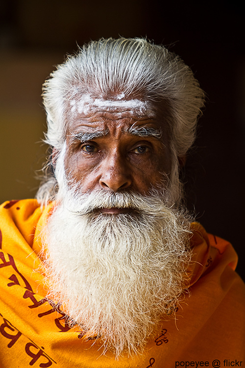 Holy Man (sadhu) - Kerala, India