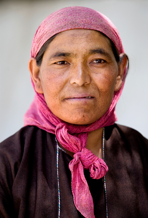 Portrait of Woman - Ladakh, India